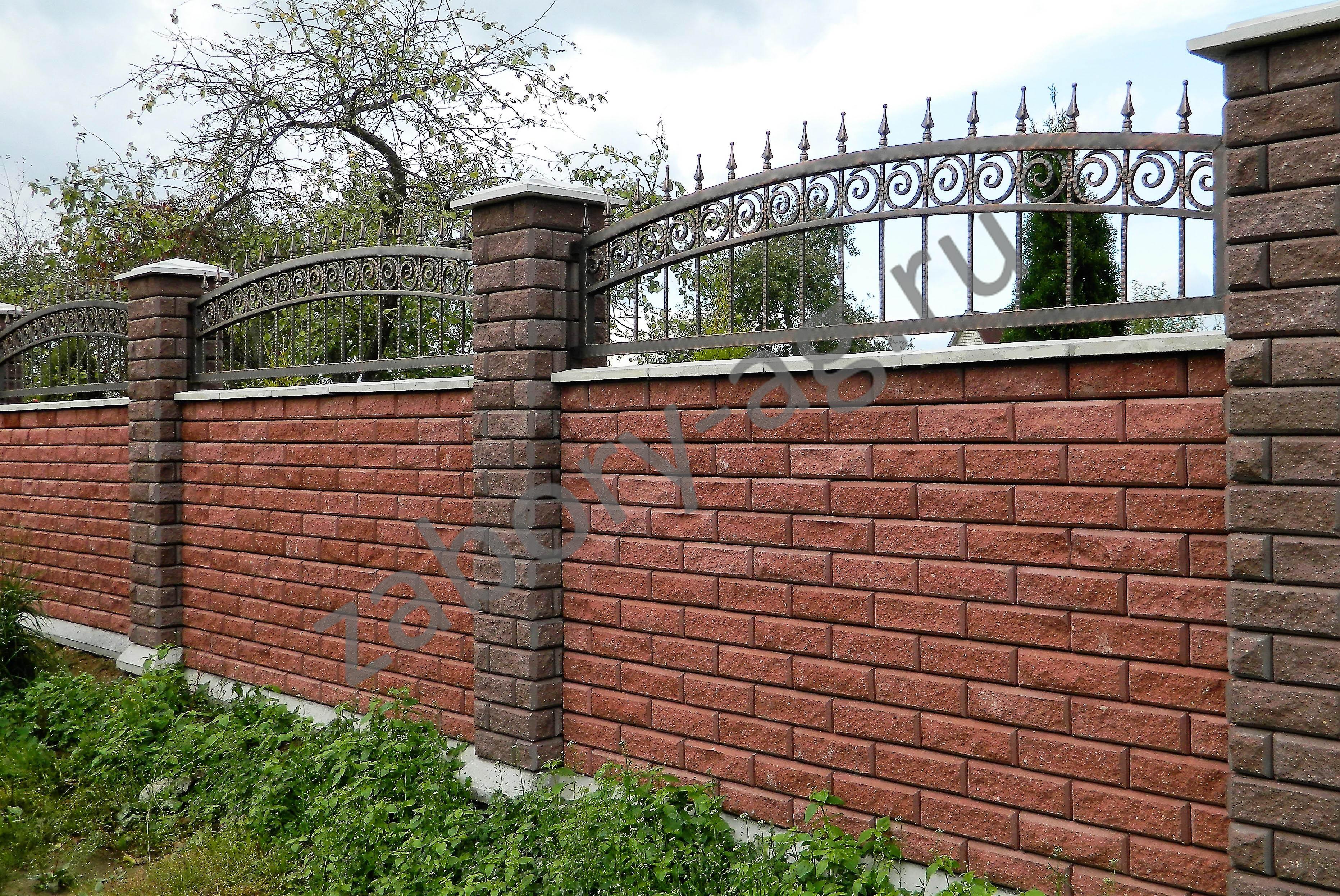 Забор декоративный металлический для клумб фото идёшь